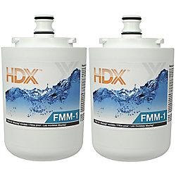 HDX Filtre FMM-1 remplace le filtre Maytag UKF7001 (Paquet de 2)