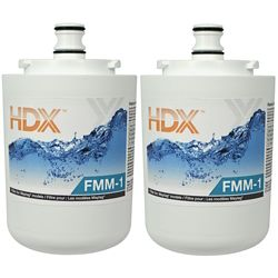 HDX FMM-1 Refrigerator Replacement Filter Fits Maytag UKF7001 (2-Pack)