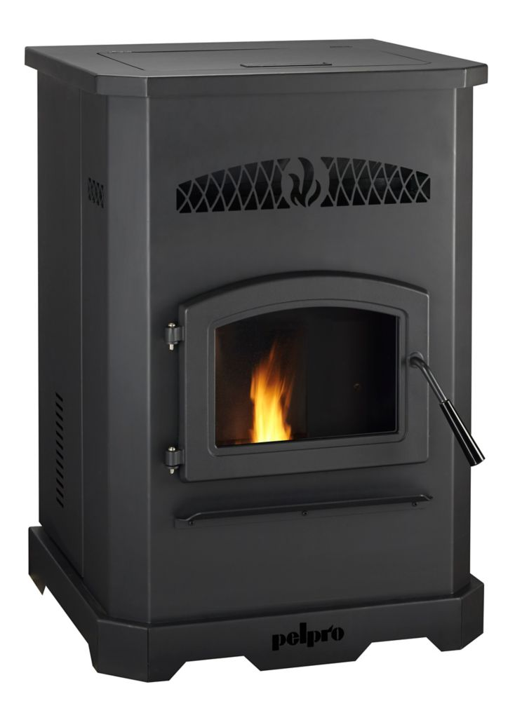 Pleasant Hearth PH35PS 35,000 BTU Medium Pellet Stove | The Home ...