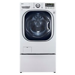 LG Electronics 5.0 cu. ft. Front Load All-In-One Electric Washer-Dryer Combo in White