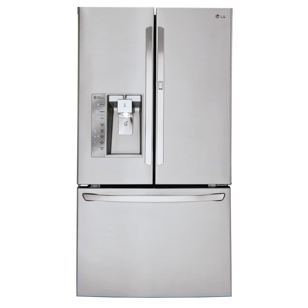 30 cu. ft. Door-in-Door Refrigerator with Slim SpacePlus Ice System in Stainless Steel