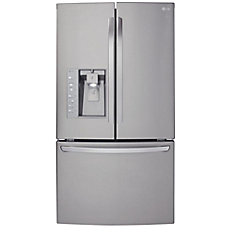 24 cu. ft. Counter-Depth Refrigerator with Slim SpacePlus Ice System in Stainless Steel
