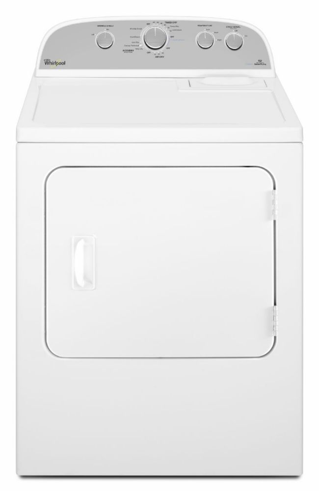 7.0 cu. ft. High Efficiency Front Load Electric Dryer in White