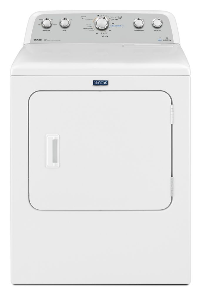 Maytag 7.0 cu. ft. High Efficiency Front-Load Electric Dryer in White