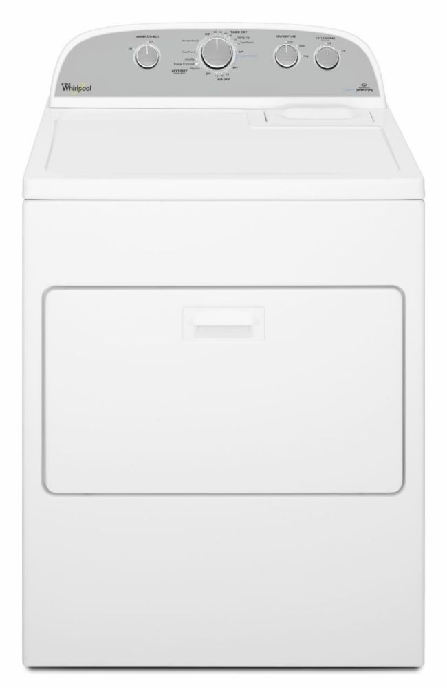 7.0 cu. ft. HE Dryer with Steam Refresh Cycle in White