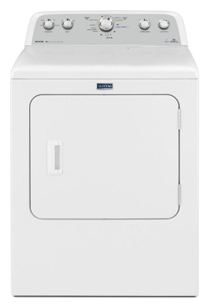 Bravos<sup>®</sup> 7.0 cu. ft. High Efficiency Gas Dryer in White