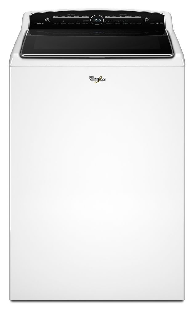 Cabrio<sup>®</sup> 6.1 cu. ft. High-Efficiency Top Load Washer with Active Spray Technology in Wh...