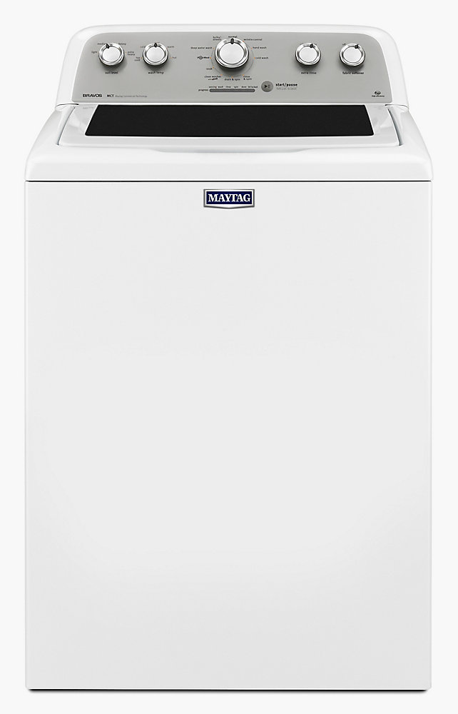 5.0 cu. ft. Top Load Washer with PowerWash in White