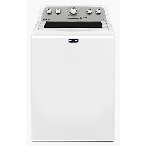 Laveuse à chargement par le haut de 5,0 pi3 avec PowerWash en blanc
