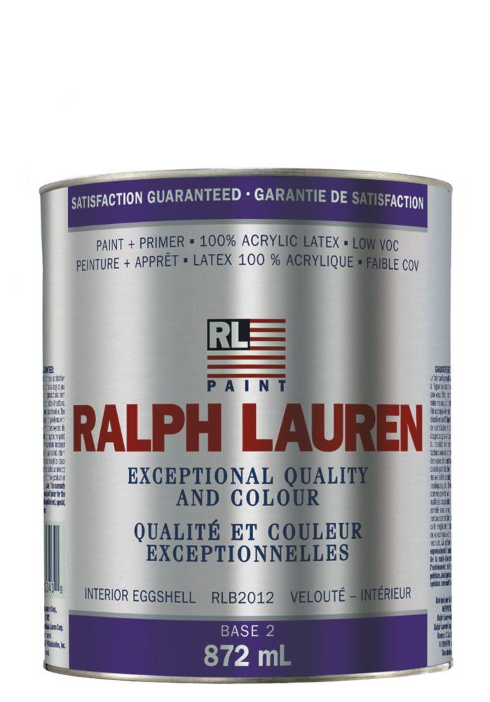 Ralph Lauren Interior Paint- Eggshell- Base 2- Quart 359320 Canada Discount