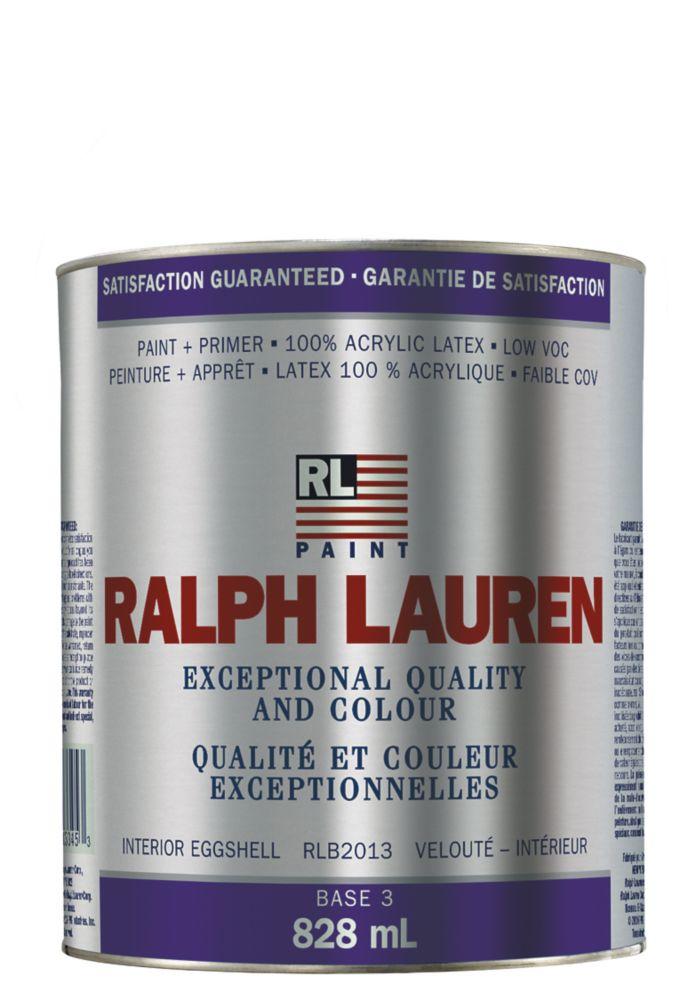 Ralph Lauren Interior Paint- Eggshell- Base 3- Quart 359322 Canada Discount
