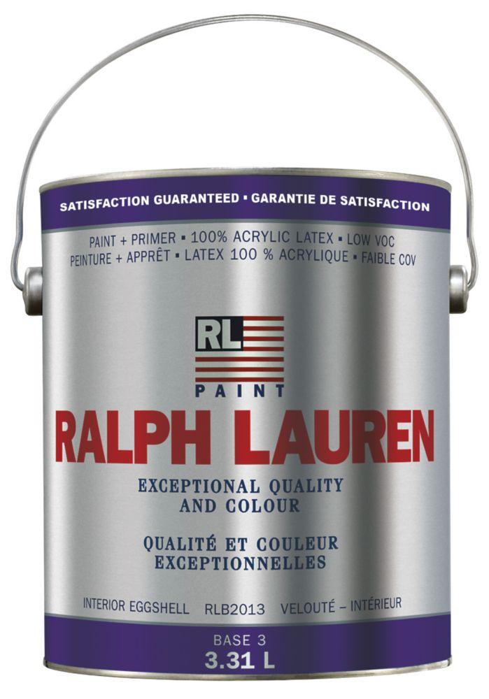 Ralph Lauren Interior Paint- Eggshell- Base 3- Gallon 359323 Canada Discount