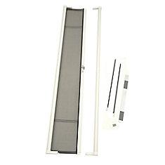 Brisa White Tall Retractable Screen