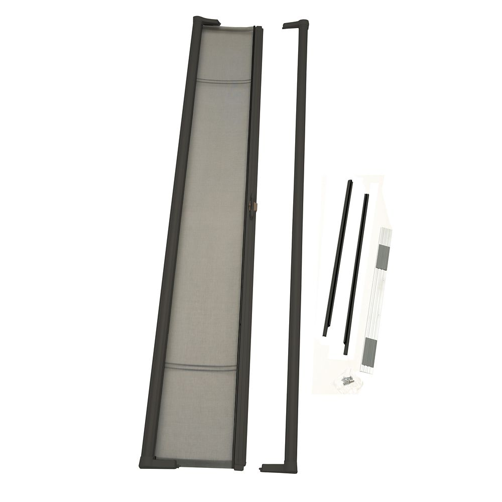 Brisa Bronze Tall Retractable Screen Single Pack