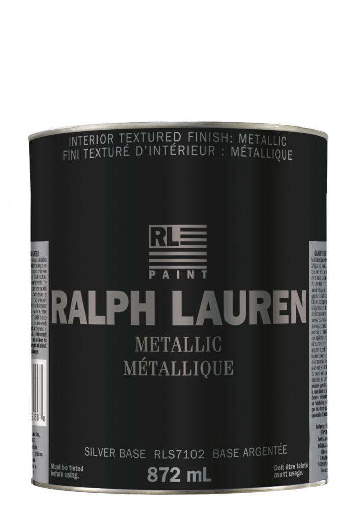 Ralph Lauren- Revêtement de spécialité : Métallique- base argentée- Litre