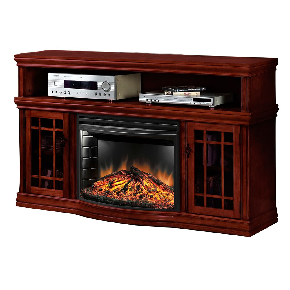 Muskoka Dwyer 25 Inch Curved Electric Fireplace Rich