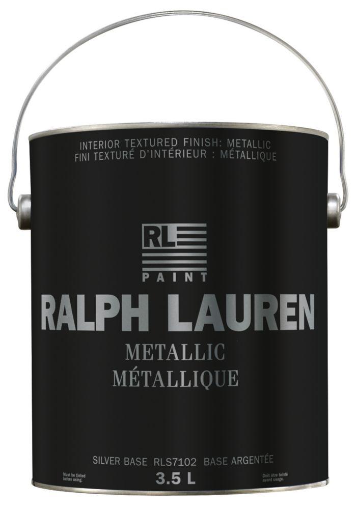 Ralph Lauren- Revêtement de spécialité : Métallique- base argentée- Gallon