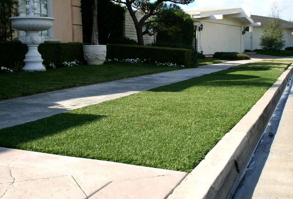 Greenline Classic 54 Fescue 3 ft. x 8 ft. Artificial Grass for Outdoor Landscape