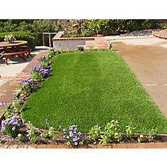 Classic 54 Spring 5 ft. x 10 ft. Artificial Grass for Outdoor Landscape