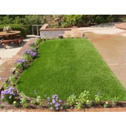 Greenline Classic 54 Spring 5 ft. x 10 ft. Artificial Grass for Outdoor Landscape