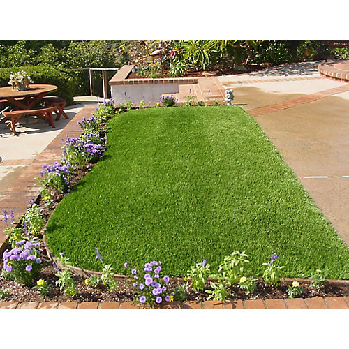 Classic 54 Spring 3 ft. x 8 ft. Artificial Grass for Outdoor Landscape