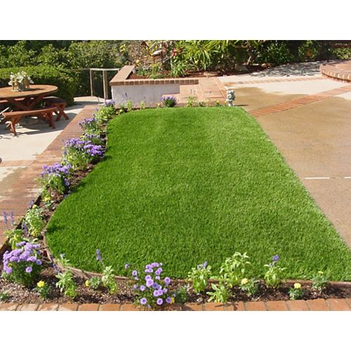 Greenline Classic 54 Spring 3 ft. x 8 ft. Artificial Grass for Outdoor Landscape
