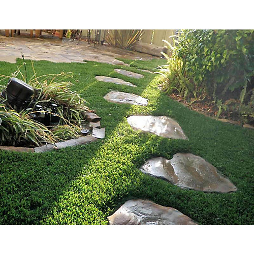 Classic Premium 65 Fescue 3 ft. x 8 ft. Artificial Grass for Outdoor Landscape