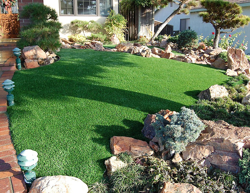 Greenline Classic Pro 82 Fescue 15 ft. x 25 ft. Artificial ...