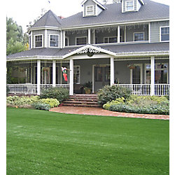 Greenline Classic Pro 82 Spring 15 ft. x 25 ft. Artificial Grass for Outdoor Landscape