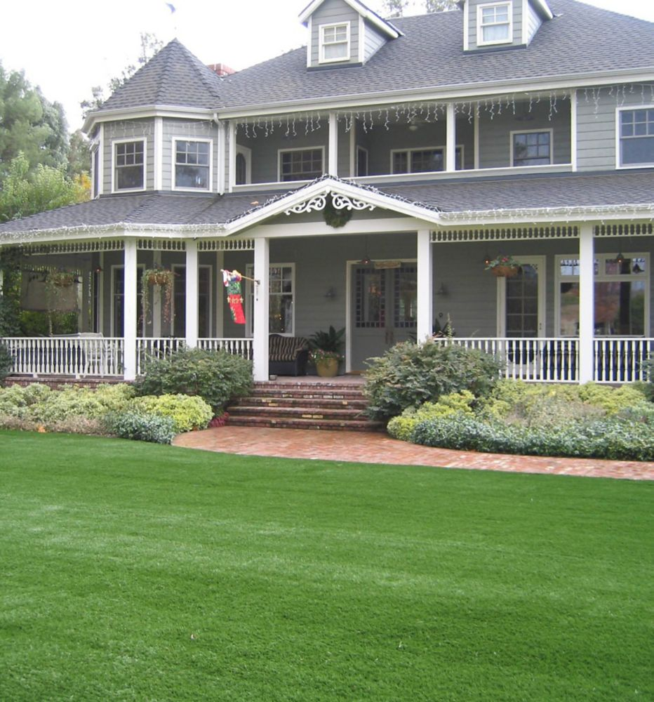 GREENLINE CLASSIC PRO 82 SPRING - Artificial Synthetic Lawn Turf Grass Carpet for Outdoor Landsca...