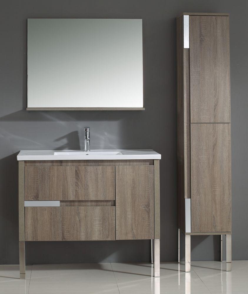 Ove decors idra meuble lavabo 40 po home depot canada for Ove salle de bain
