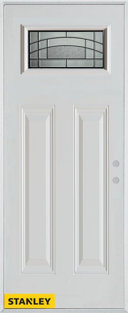 stanley doors 34 inch x 80 inch chatham patina rectangular lite 2