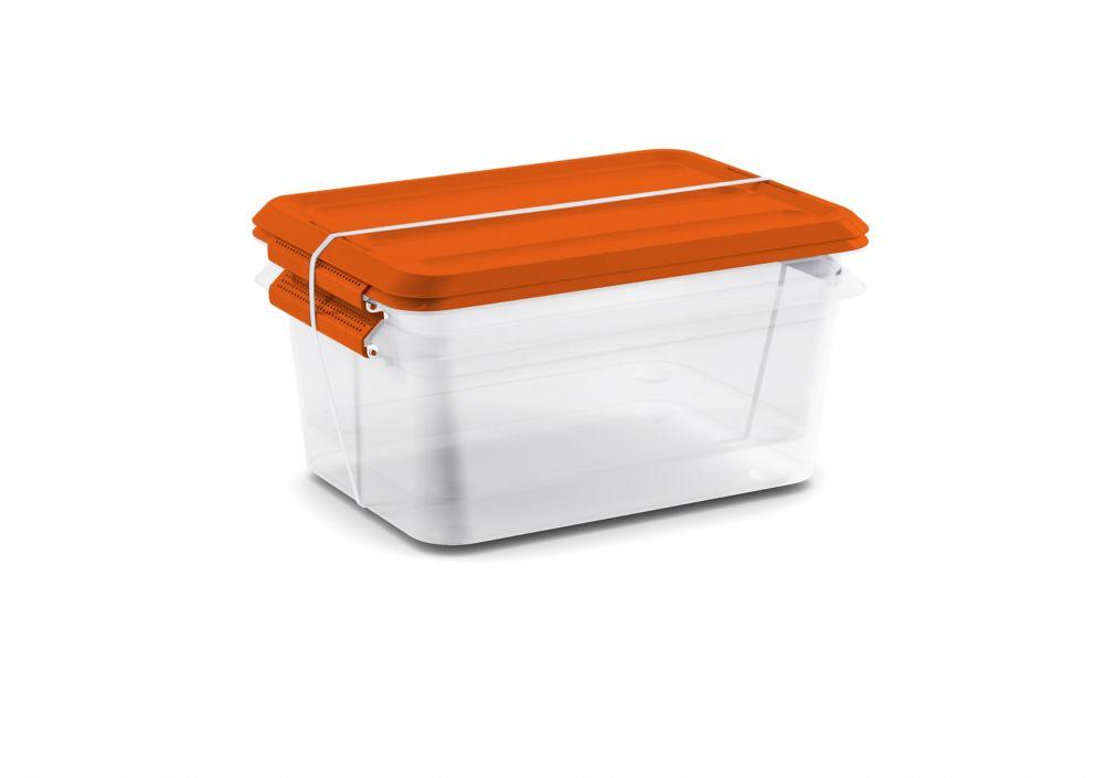 14L Latchmates 2-Pack Orange Lid
