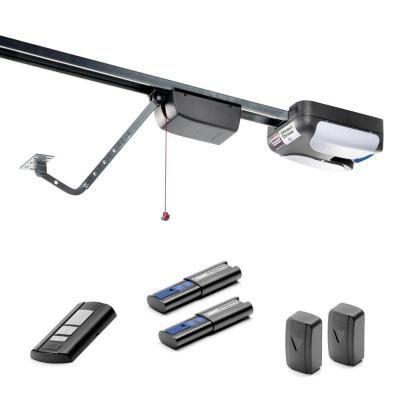 550 3/4 HP 310MHz Garage Door Opener with Rails