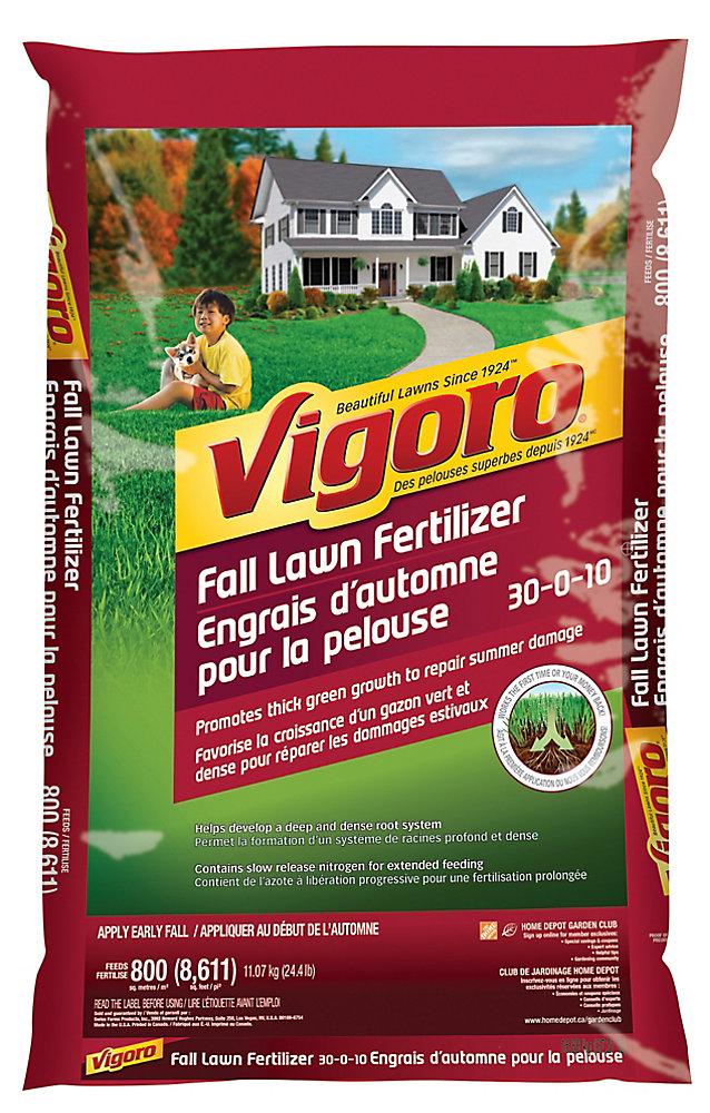 Fall Lawn Fertilizer, 24.4 lb.