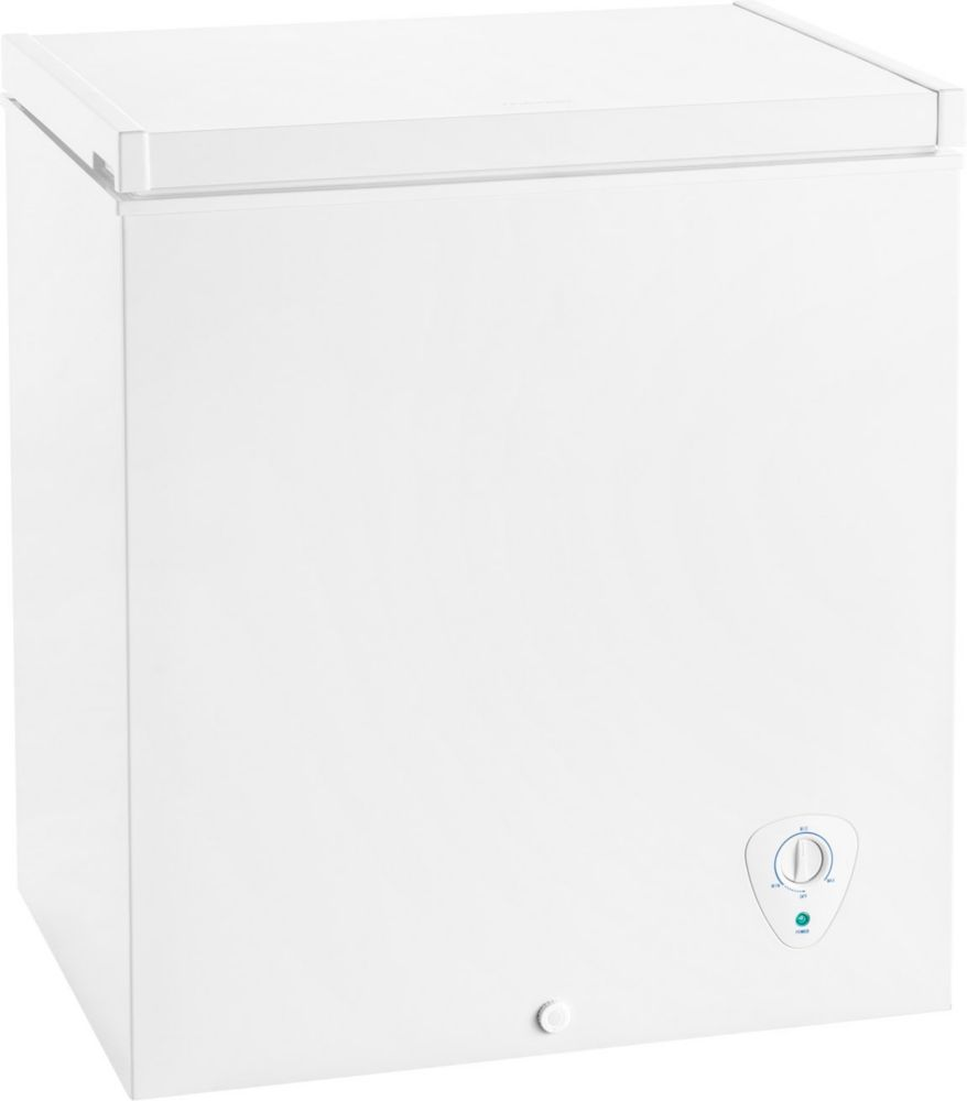 5 Cu. Ft. Manual Defrost Chest Freezer in White