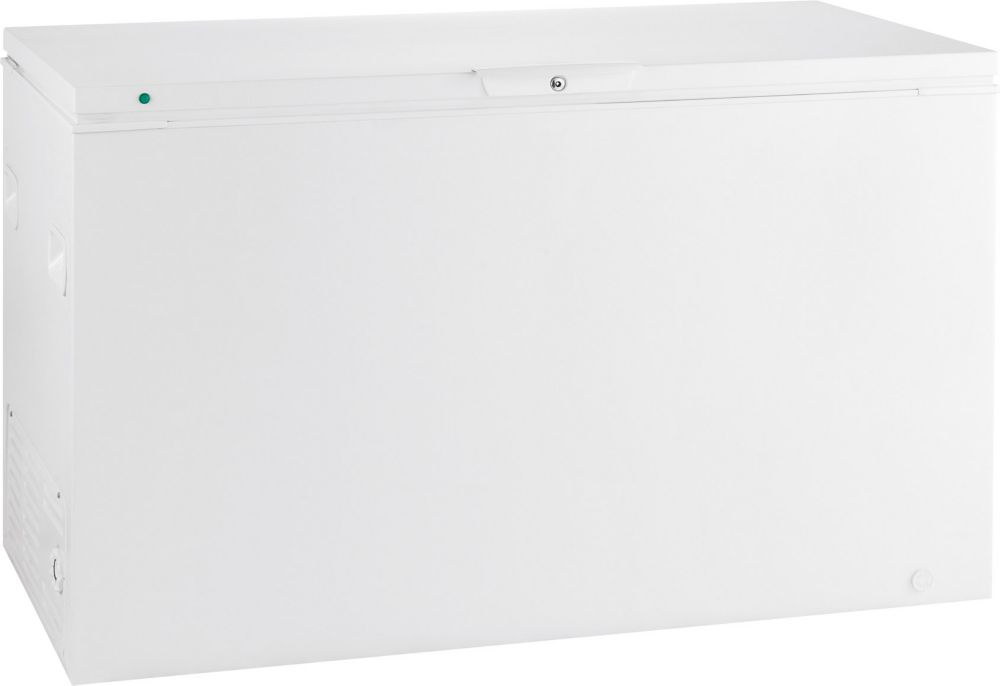 15.57 Cu. Ft. Manual Defrost Chest Freezer in White