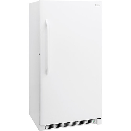17 cu. ft. Manual Defrost Upright Freezer in White