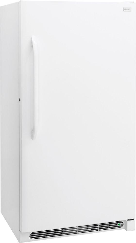 Frigidaire 17 Cu. Ft. Manual Defrost Upright Freezer in White