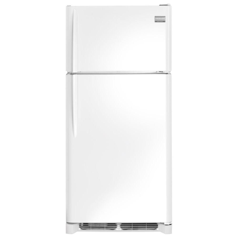 Gallery 18 cu. ft. Top Freezer Refrigerator in White