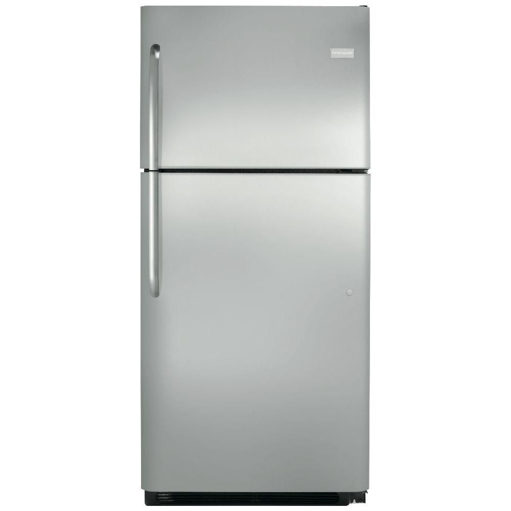 20 cu. ft. Top Freezer Refrigerator in Stainless