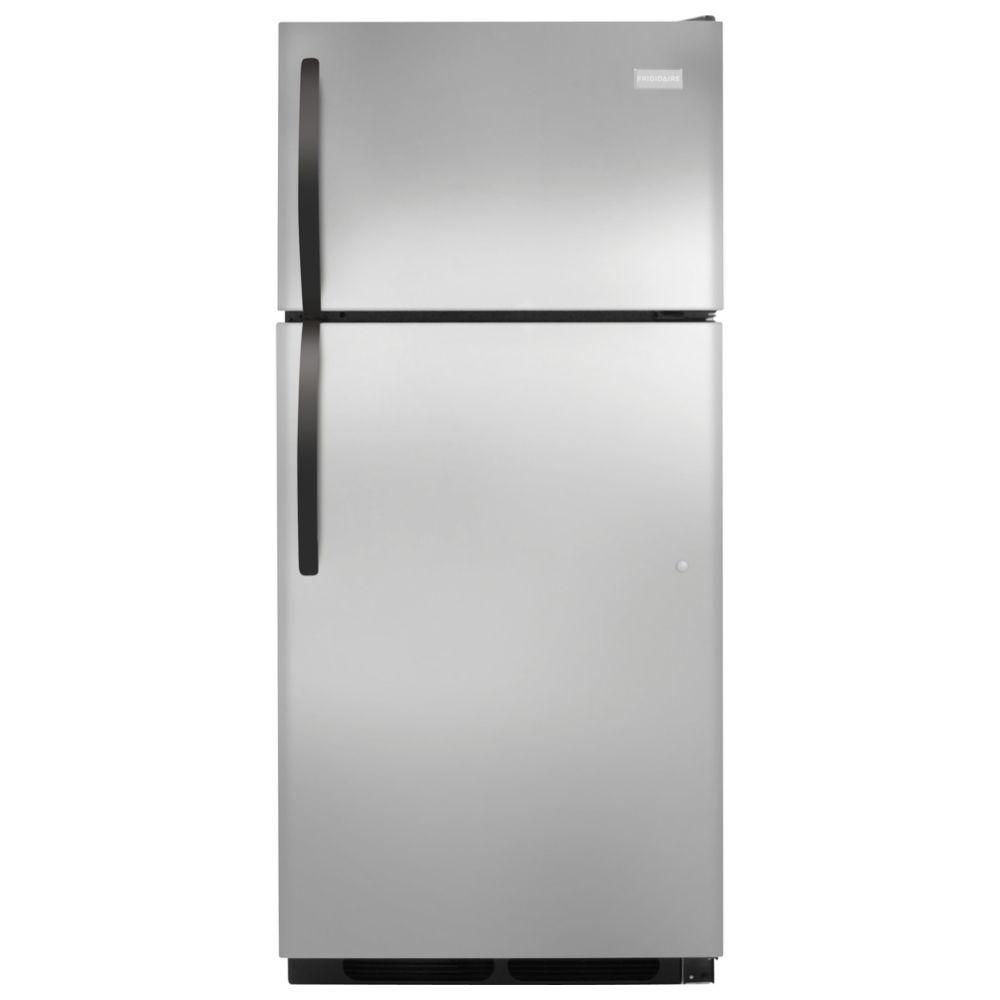 16 cu. ft. Top Freezer Refrigerator in Stainless Steel
