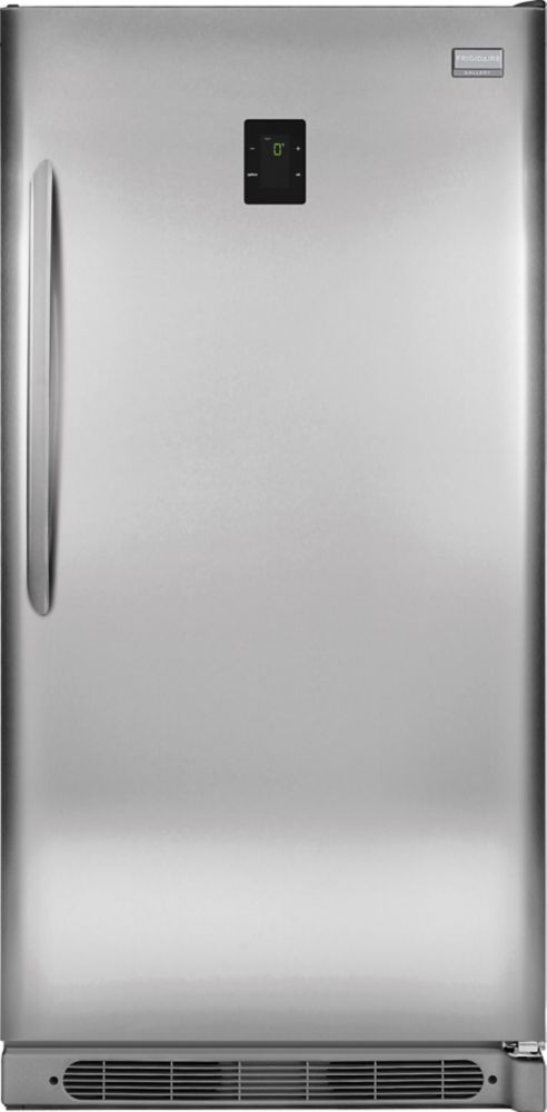 17 Cu. Ft. Frost Free Upright Freezer in Stainless Steel (Energy Star<sup>®</sup>)