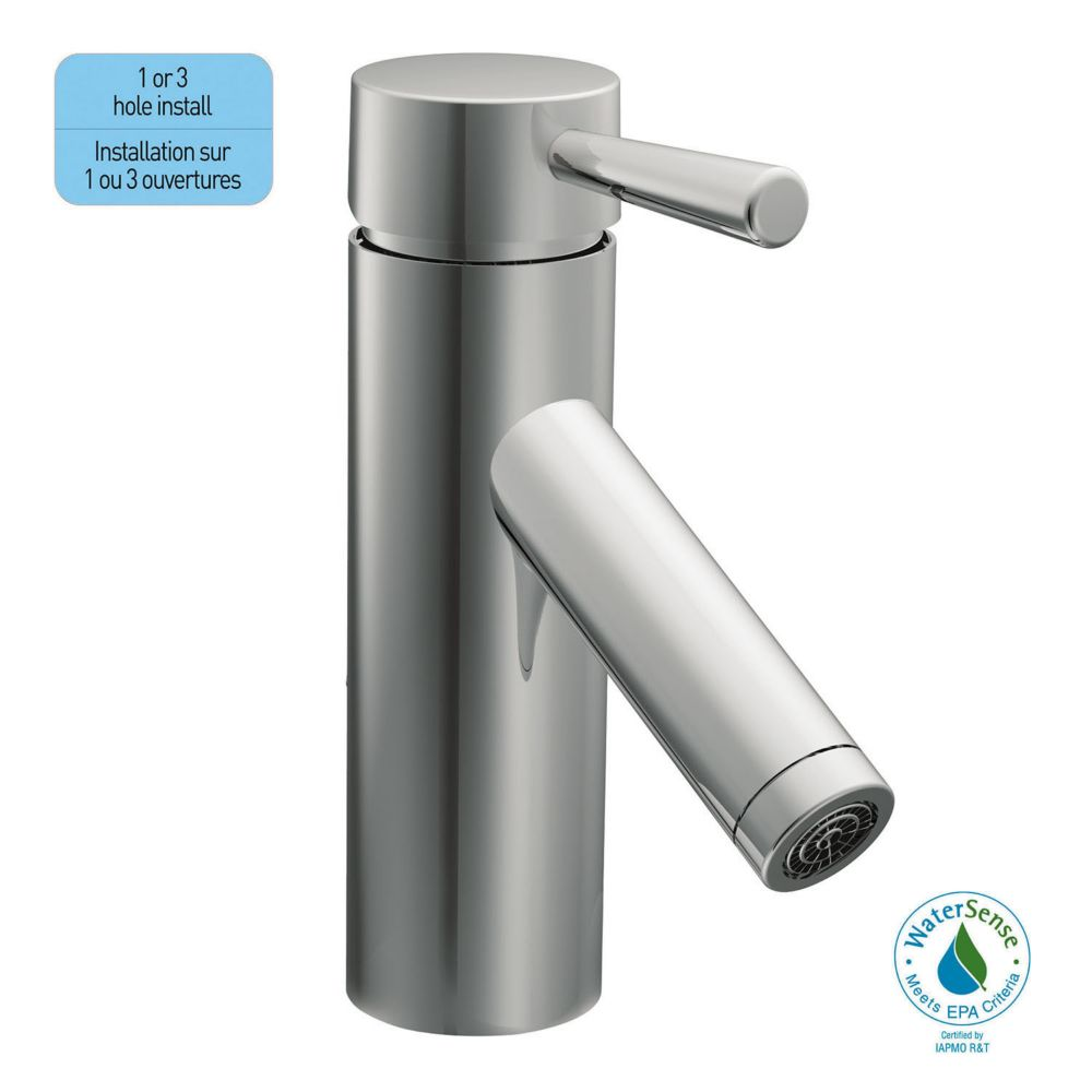 Level � Robinet de salle de bain à 1 poignée - fini chrome