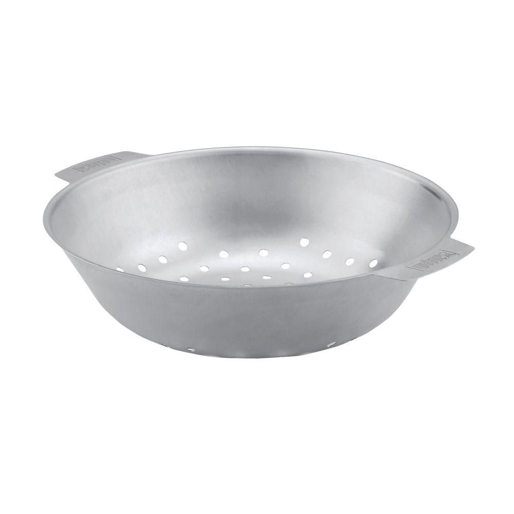 Stainless Steel Grill Basket - Round