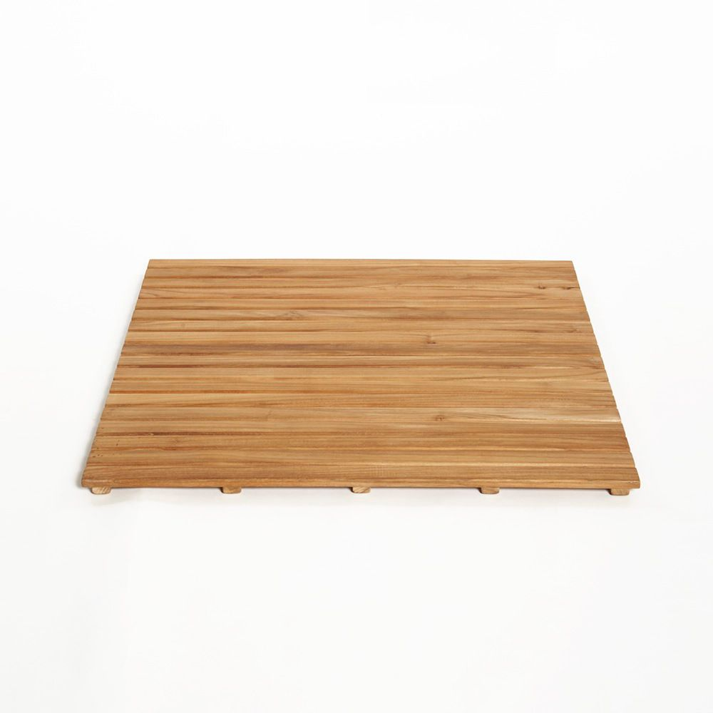 feet non bamboo for out shower teak handcrafted mat slip wood the and bath products in