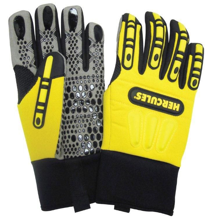 Rigger Style Impact Protection Work Glove - Size XXXL Vi798 Canada Discount