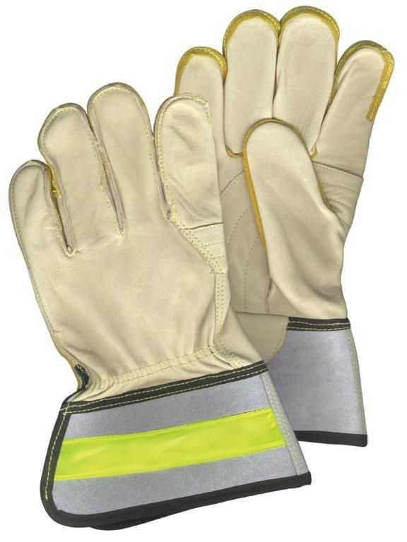 Cowhide Leather Linesman Work Glove - Size L F5452 Canada Discount