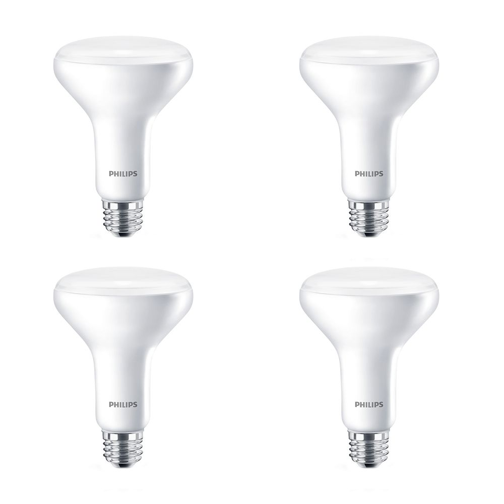 LED 8.5W 65W BR30 Daylight (5000K) - Case of 4 Bulbs 452334 in Canada