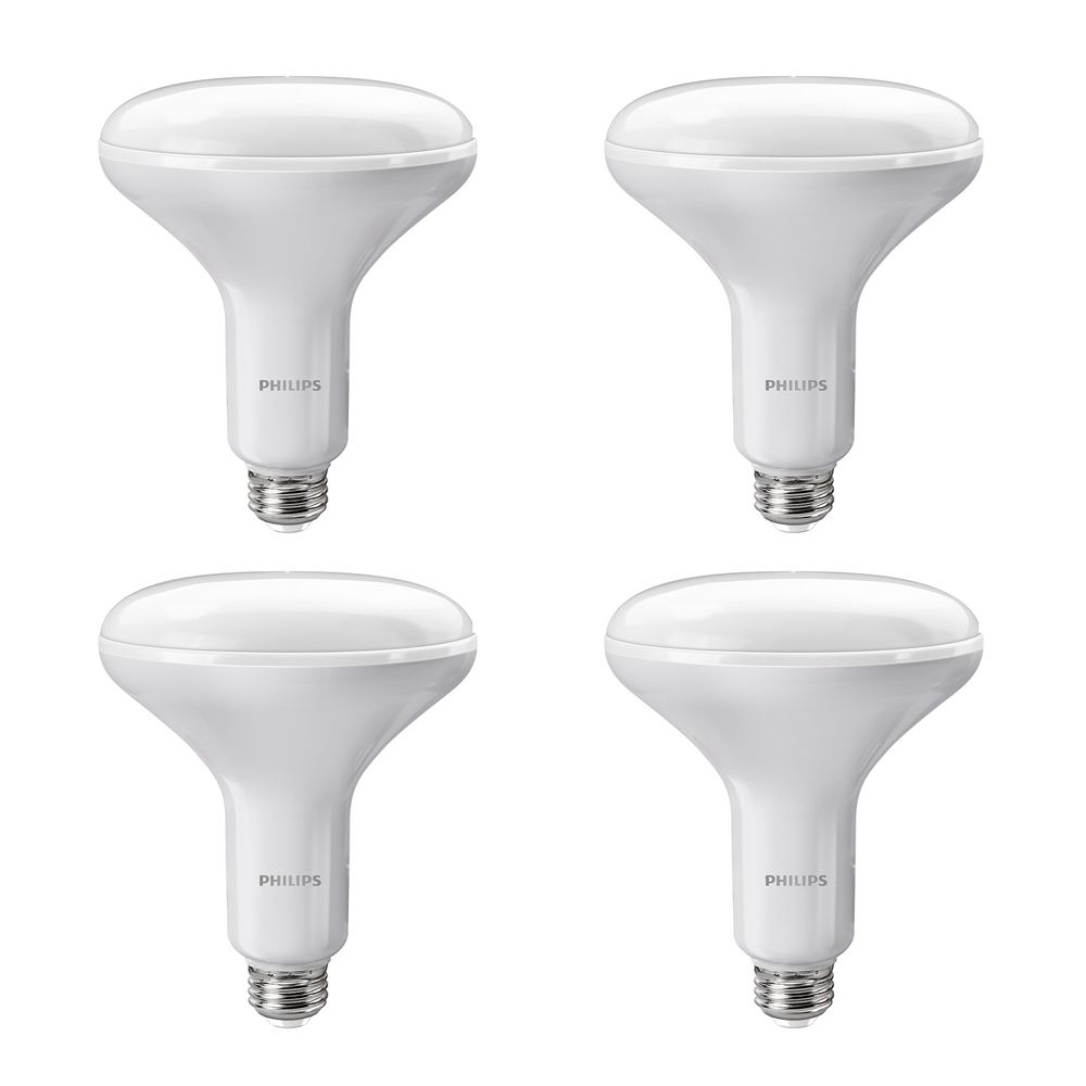 LED 12W 75W BR40 Soft White (2700K) - Case of 4 Bulbs 431956 in Canada